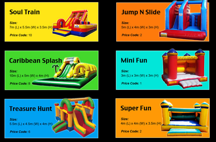 Outdoor toys hire - 3