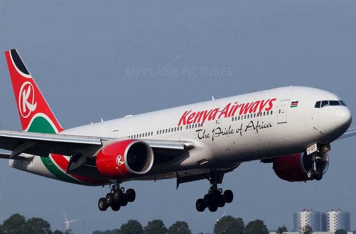 Kenya Airways in Zambia image