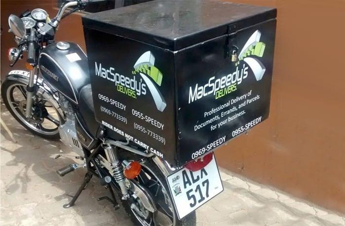 Macspeedy's Motorbike Messengers Ltd image