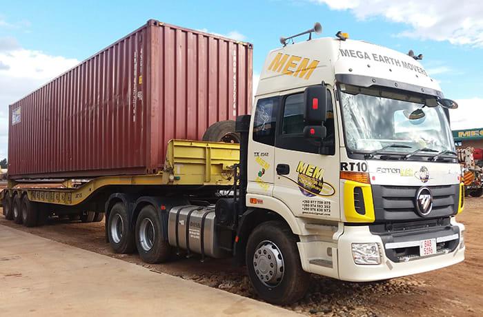 Abnormal load transportation - 2