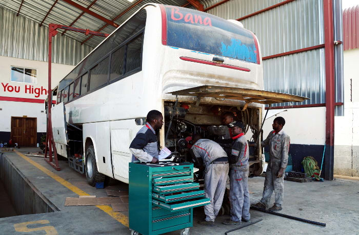 Higer bus and pick-up parts - 2