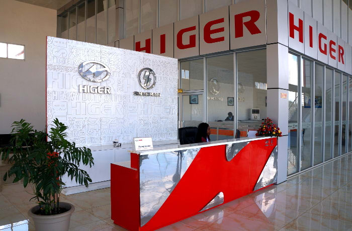 Higer bus and pick-up sales - 1