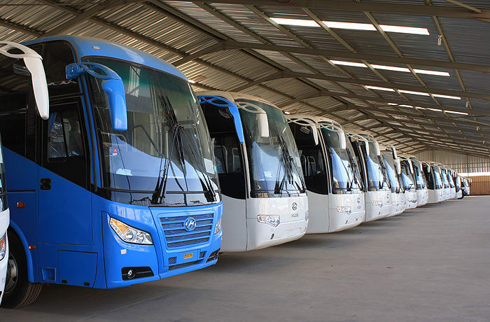 Higer bus and pick-up sales - 2