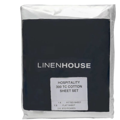 100% Cotton Bed Sheet Set  Hospitality Grade  300 Thread Count image