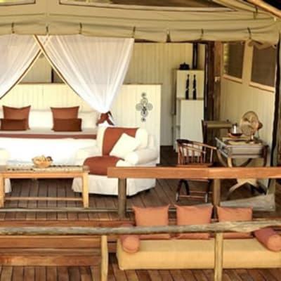 Chiawa Camp, safari tents I-VI image
