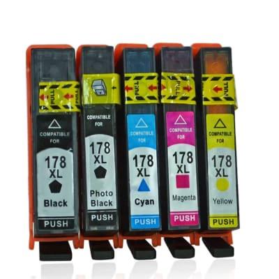 178xl Black & Colour Ink Cartridges  image