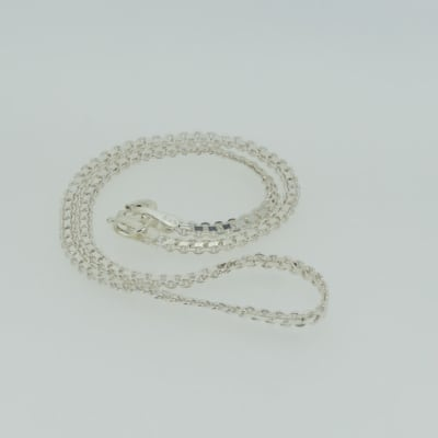 Crystal linked necklace image