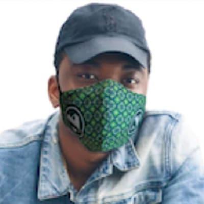 3 Ply washable sublimated Beak Face Mask  image