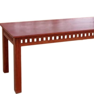 8 Seater Dining Room Table with Block Features  image