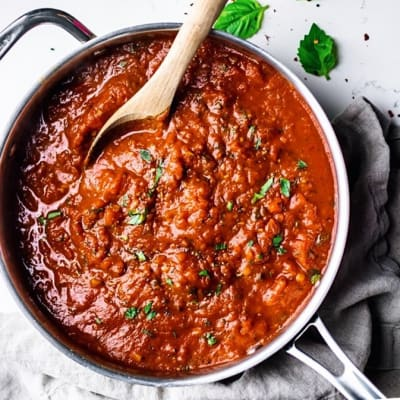 Tansi Kitchen - Arrabiata Pasta Sauce image