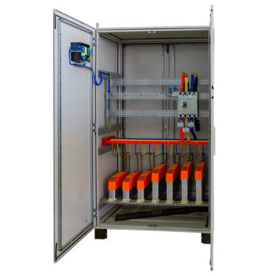 Africab Automatic Power Factor Correction Capacitor Panel image