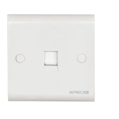 Africab Plain White Slide Switch image