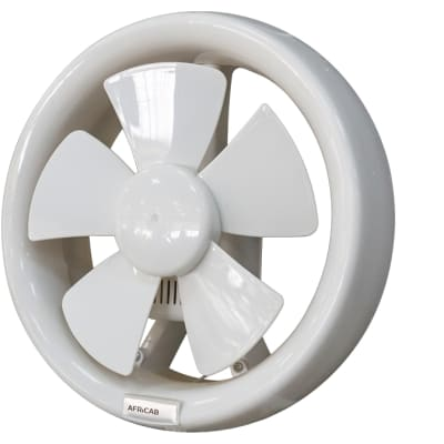 Africab Plastic Exhaust Fan Round Fit image