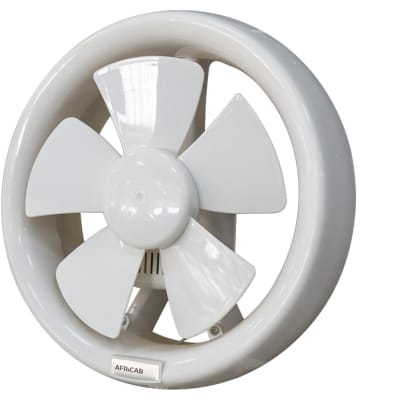 Africab Plastic Exhaust Fan round 6, 8, 12 inch image