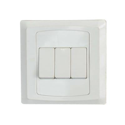 Africab Three Way Push Button Light Switch image