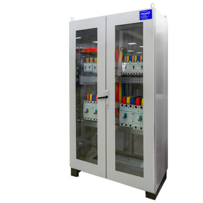 Africab - Glass Door Automatic Power Factor Correction Capacitor Panel image