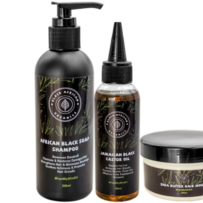 Organic Hair Care & Growth Kit  image