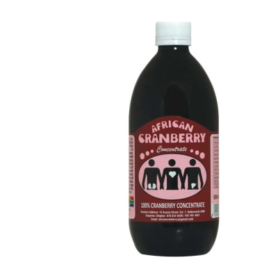 African Cranberry Concentrate 500ml  image