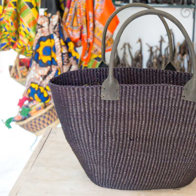 Black Tote Bag image