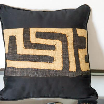 Black and Beige Cushion image