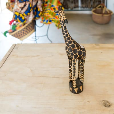 Wooden Curving of a Giraffe image