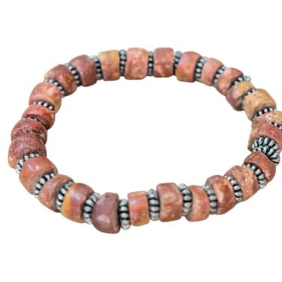 Bracelet Wooden Brown Beads Bracelet image