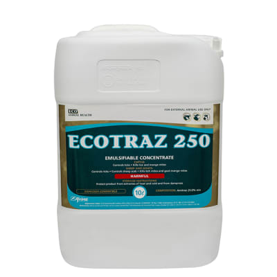 Ectoparasiticides - Dips And Sprays - Ecotraz 250 image