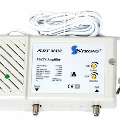 Master Antenna Television - MATV amplifier SRT MA30 image