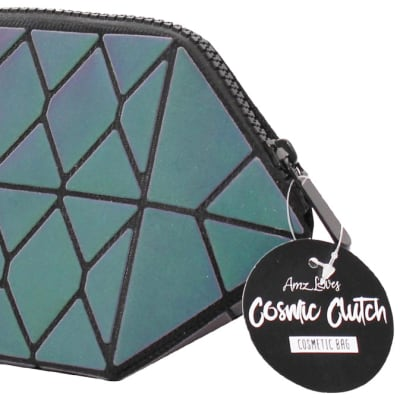 Amz Loves Galactic Hexagon Make-Up Purse image
