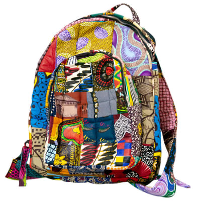 Ankara backpack - Multi-colour image