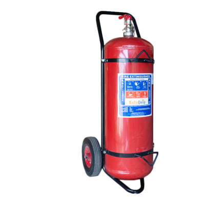 Fire Extinguishers -   Powder with trolley image