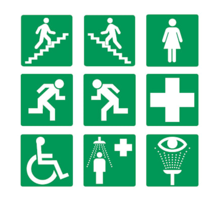 Safety Signs - Information Signs image