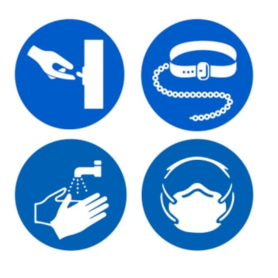 Safety Signs - Mandatory Signs image