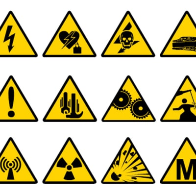 Safety Signs - Warning Signs image