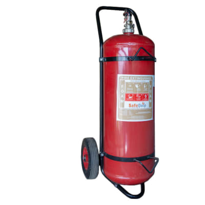 Fire Extinguishers - Foam Fire Extinguisher with trolley image