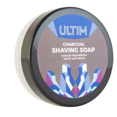 Ultim Shaving Soap Activated Charcoal  Gentle image