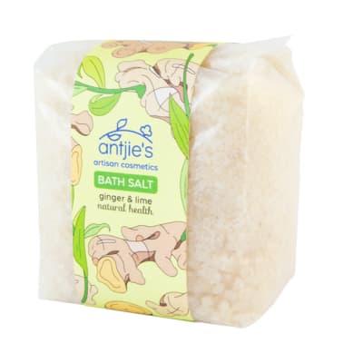 Bath Salt Artisan Cosmetics  Ginger & Lime  image