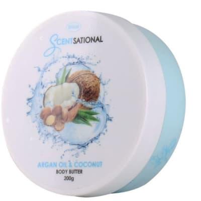 Body Butter Scentsational  Argan Oil & Coconut 200g image