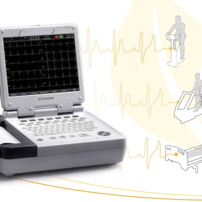 Diagnostic ECG -  SE-12 Express Twelve-channel ECG  image