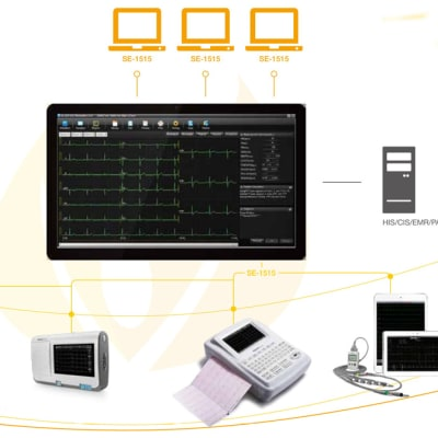 Diagnostic ECG -  SE-1515 Workstation image