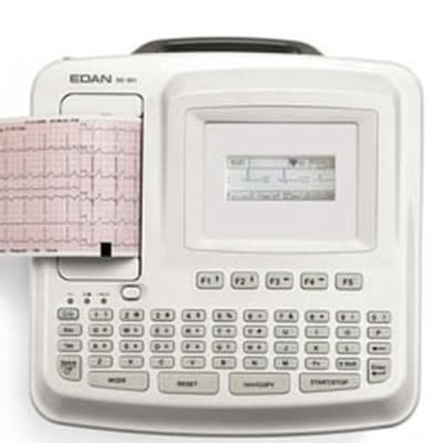 Diagnostic ECG -  SE-601 Series Six-channel ECG image