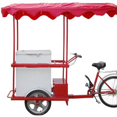 Solar Ice Cream Tricycle  image