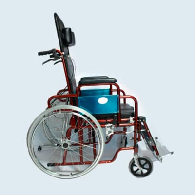 Adult wheelchair 90 degree model image
