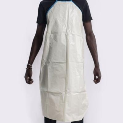 Plastic apron reusable image