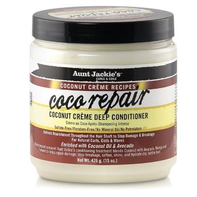 Aunt Jackie's Coconut Creme Recipes  Coco Repair Deep Conditioner image