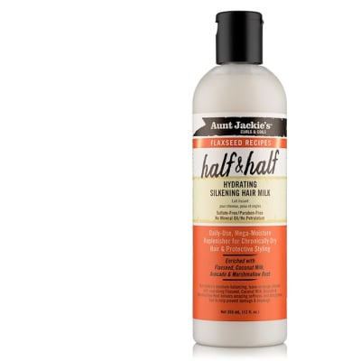 Flaxseed Recipes  Half & Half  Hydrating Silkening Hair Milk  355ml image