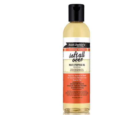 Soft All over  Multi-Purpose Oil  Curls & Coils Flaxseed Recipes 237ml image