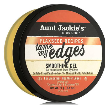 Tame My Edges  Smoothing Gel  Curls & Coils Flaxseed Recipes 71g image