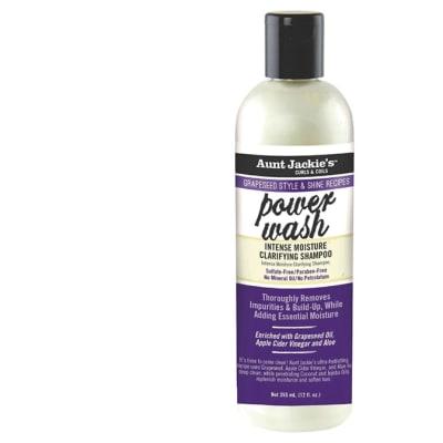 Power Wash  Intense Moisture Clarifying Shampoo Grapeseed Style & Shine 355ml image