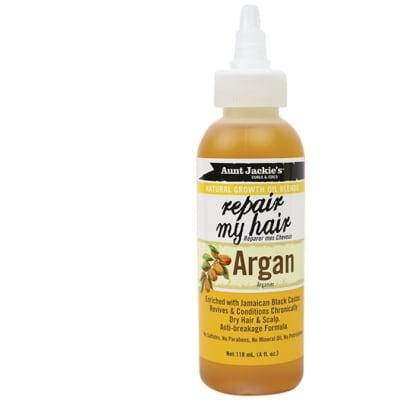 Repair My Hair  Argan Hair Treatment  Natural Growth Oil Blends 118ml image